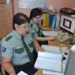 На централизованном пульте охраны